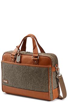 Hartmann Tweed Belting Aktentasche M Natural Tweed