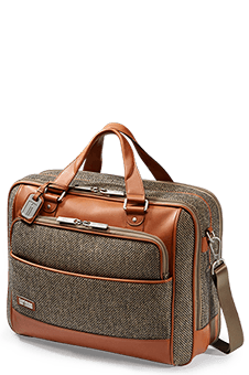 Hartmann Tweed Belting Aktentasche L Natural Tweed