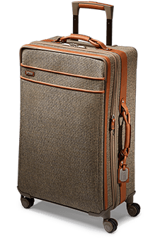 Hartmann Tweed Belting Medium Journey Exp. Spinner 74.5cm Natural Tweed
